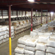 An inside view of a warehouse